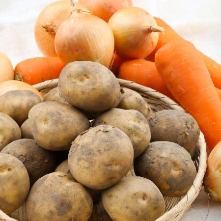 [팔도농장] 실속야채세트 감자(특)2kg+양파(대)2kg+당근(상)2kg