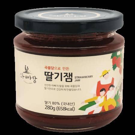 [남도장터]아빠랑 곡물당 수제 딸기잼 280g