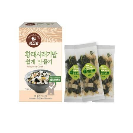 황태시래기밥 쉽게만들기 45 g (2인분 X 3개입)