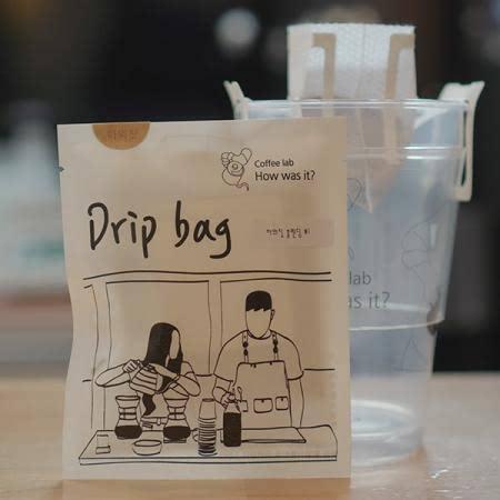 하워짓 커피랩 핸드드립 커피 드립백 8개 패키지