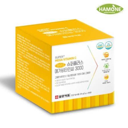 일양약품 하모네 SUPER+ 고용량 메가 도스 비타민C 3000 90포(3개월)
