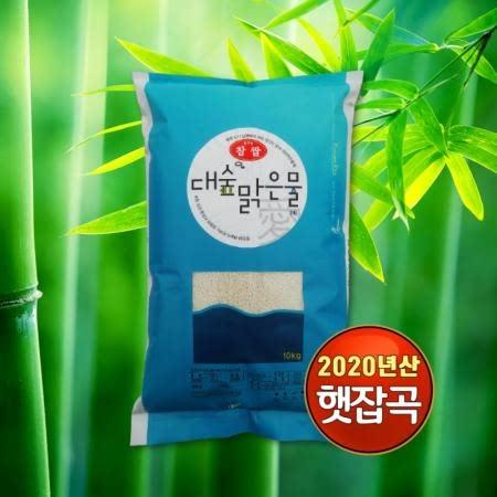 [대숲맑은물애_20년햇찹쌀] 청량한 대숲이 전하는 담양 찰진쌀 찹쌀 10kg