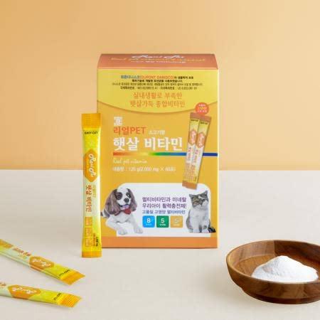 리얼펫PET 햇살비타민 2g*60포 (비타민 미네랄 영양제)