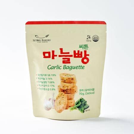 [씨튼베이커리] 오븐에 구운 씨튼우리밀마늘빵