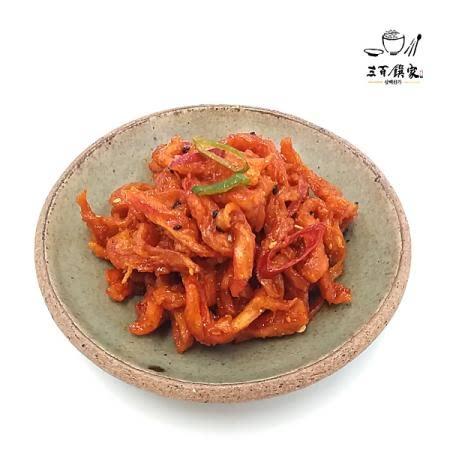 삼백찬가 진미오징어무침, 콩조림, 메추리알장조림, 황태껍질강정