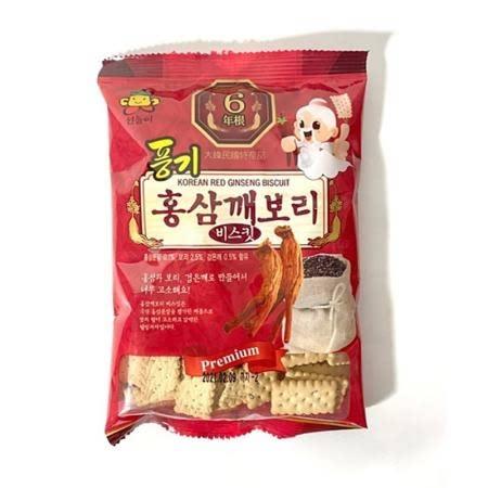 홍삼건빵 풍기 홍삼깨보리비스킷 100g 30봉