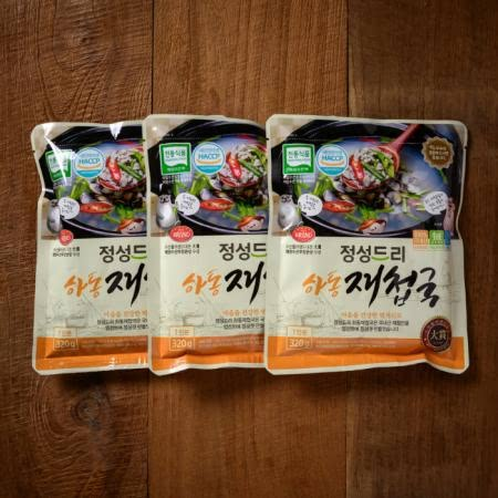 정성드리 하동재첩국(320g/10팩)/속~시원한 섬진강재첩국/수산물브랜드대전大賞