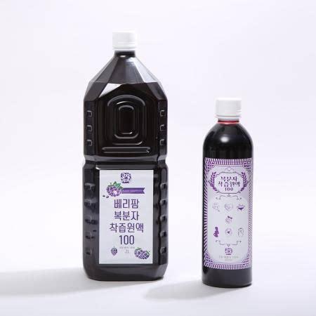 [높을고창몰] 베리팜영농조합법인 복분자원액