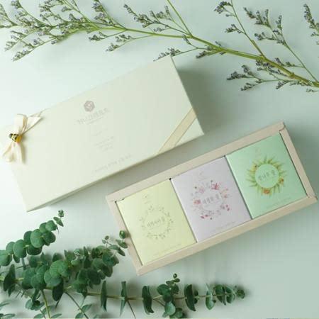 [허니크래프트] 벌꿀선물세트 130g *3