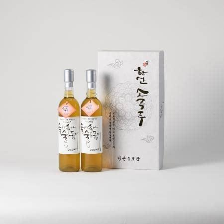 [강산주조] 한산소곡주 생주 16% 500ML*2(set)