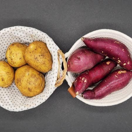 21년산 세척 꿀고구마 3kg(긴특/긴상)+감자 1kg(대사이즈)
