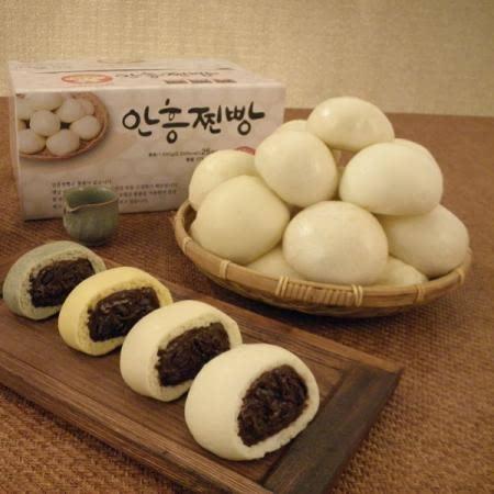 박할머니 수제 안흥흑미찐빵 60g 25개입