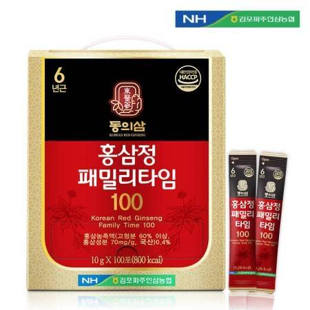 김포파주인삼농협 동의삼 홍삼정패밀리타임100