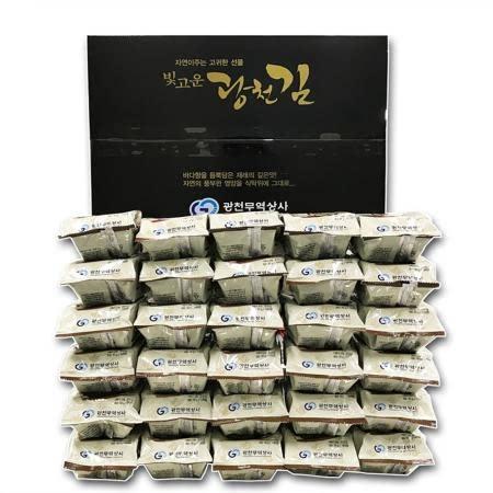 광천무역상사 빛고운광천김 식탁김 10g x 30봉