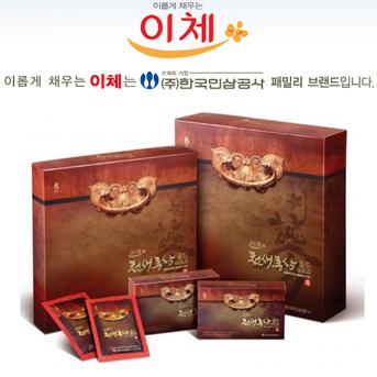 [한국인삼공사] 이체 천생홍삼골드(70ml×30포) 상품이미지
