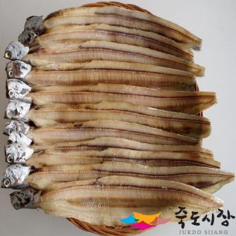 [포항 죽도시장] 갈치(반건조) 국내산 1Kg, (10마리~12마리 내외)