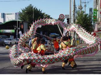 신포시장 볼거리 - 중국의날 문화축제