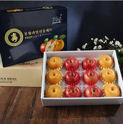 나주 봉황배 과일세트 6kg(배6과,사과6과)